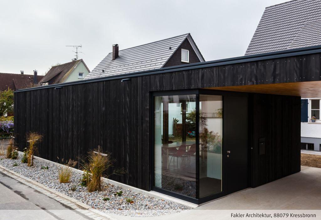 Holzfassade Schwarz galerie w r trade